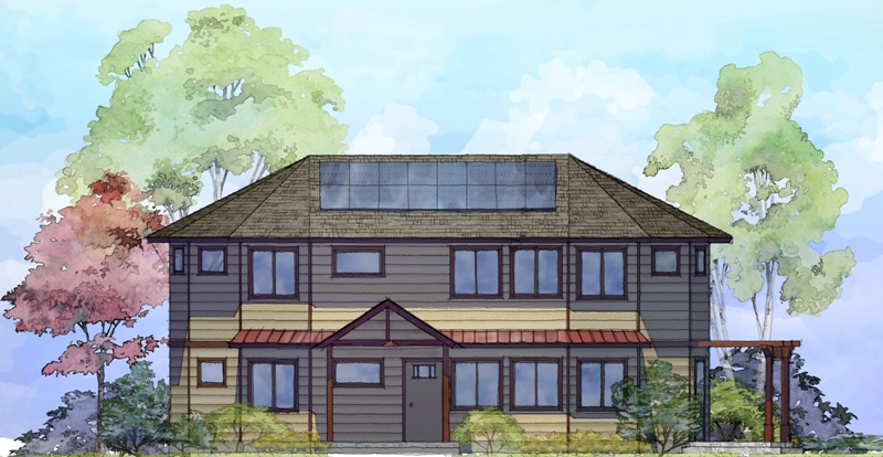 Image of a Trillium Design home built with a second floor