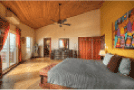 Image of an interior view of a master bedroom