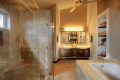 Image of an interior of a bathroom