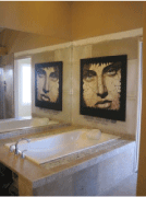 Image of an interior view of a bathroom
