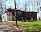 Image of a home that was spray foam insulation, high performing windows with low-e glass and argon, and a high efficiency HVAC system