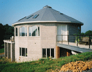 Image of a home with building materials with 50 plus year lifespans for maximum durability
