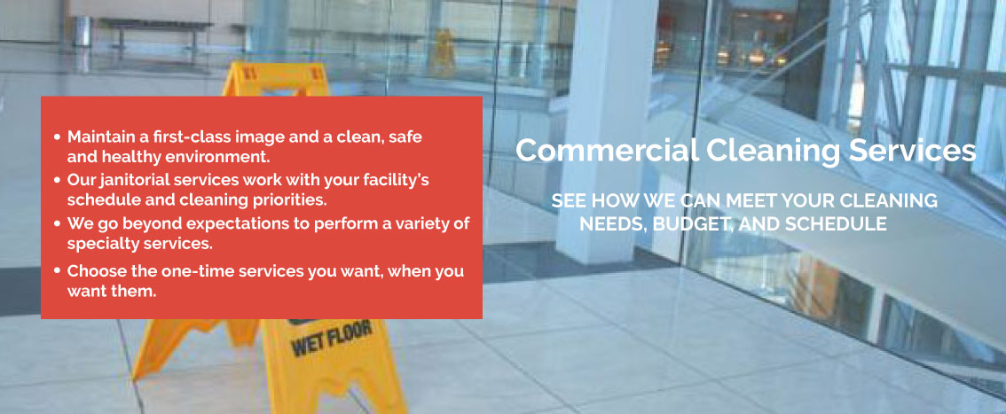 An img of Commercial Cleaning Services