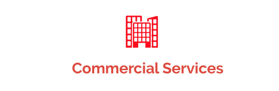 An img of Commercial Services button