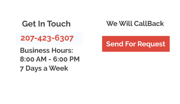 An img of Get In Touch We Will Call Back button