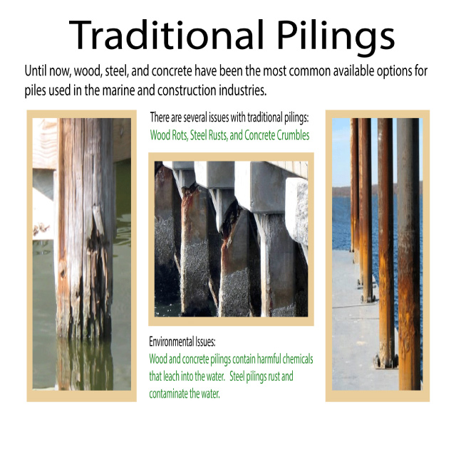 Image of Traditional Pilings